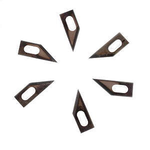 GMP WEB SLITTER REPLACEMENT BLADES 25/PK