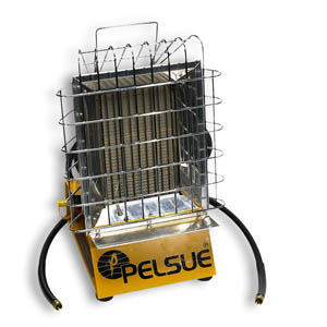 PELSUE INFRARED PROPANE CONSTRUCTION HEATER - CLEARANCE PRICE