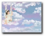 Heavenly Friend Girl Print