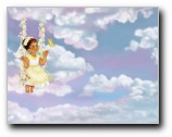 Heavenly Friend Girl 2 Print