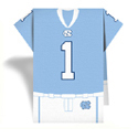 University of North Carolina Jersey Napkins
