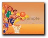 Boys Basketball Print