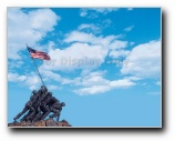 Marines on Iwo Jima Print