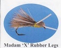 MadamX Rubber Legs