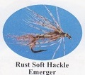 Rust Soft Hackle Emerger