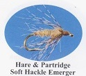 Hare & Partridge Soft Hackle Emerger