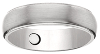Titanium Wedding Rings #30 w/Three 2000 Gauss Magnets