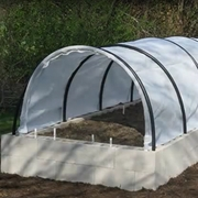 Raised Bed Shade & Hail Covers (4X12 Raised Bed)