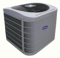 "Carrier Winter Air Conditioner Cover ICC58-077 fits Condenser number 24ACR348 series 0. A/C Unit dimensions 42 1/2""H x 35""W x 35""D"