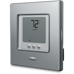 "Carrier EDGE ""Touch-N-Go"" non-programmable Thermostat:"
