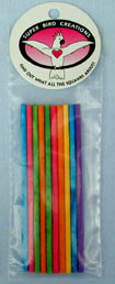 Super Bird Creations Paper Party Chew Sticks Large 10/pk