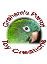 New! Graham's Parrot Toy Creations