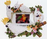 "Picture Frame 4x6"" Cockatoo"