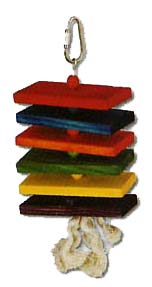 Paradise Colored Wood Stack