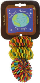 PP Tire Foot Toy 3 pack