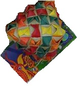 PP Diamond Woven Foot Toy Large