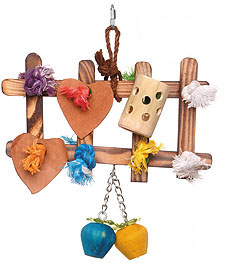 ParroTopia Value Toy Picket Fence
