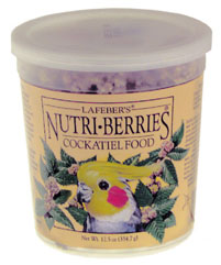 Lafeber Nutri-Berries Cockatiel Original 12.5oz