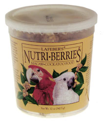 Lafeber Nutri-Berries Macaw/Cockatoo Original 12oz