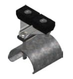 KC-023269-551,  End Clamp Pastic Body (replaces XA-28616)
