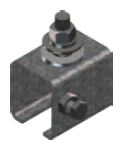 XA-28742,  Anchor Clamp Stainless Steel