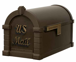 Keystone Mailbox Signature Series Bronze w/Antique Bronze
