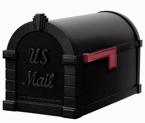 Keystone Mailbox Signature Series Blackw/Black
