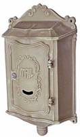 Colonial Locking Wall Mount Residential Mailbox