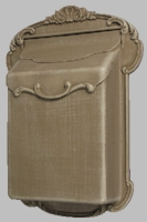 Victoria Vertical Wall Mount Residential Mailbox