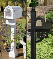 Keystone Original Series Residential Mailbox and Post