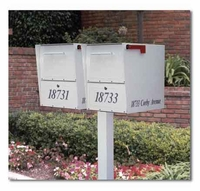 Large Oasis Locking Multi Mailbox Packages