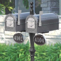 Double Eagle Mailbox and Classic Victorian Post