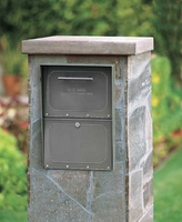 Oasis Locking Column Mailbox Deluxe Size