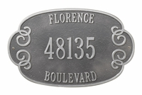 Florence Plaque