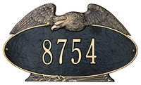 Eagle Oval Plaque