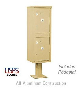 USPS Approved Outdoor Mail Package Parcel Locker
