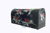 Red Birds Hand Painted Residential Mailbox