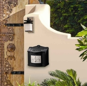 Gaines Wall Mount  Mailbox Black