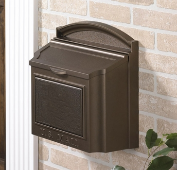 Whitehall Wall Mount Mailbox...Bronze