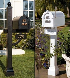 Keystone Signature Series Residential Mailbox and Post