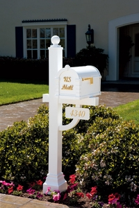 Keystone Signature Series Mailbox and Deluxe Post