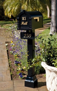 Keystone Signature Series Mailbox with Standard Post