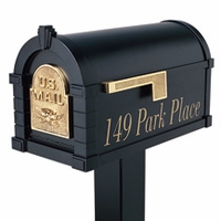 Keystone Mailbox Vinyl Address