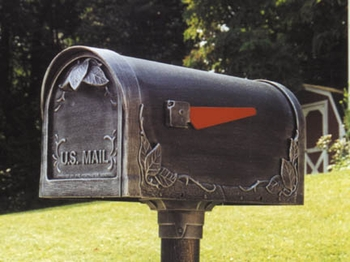 Floral Curbside Mailbox