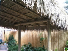 4ft x 30ft Palm Grass Tiki Thatch Roll