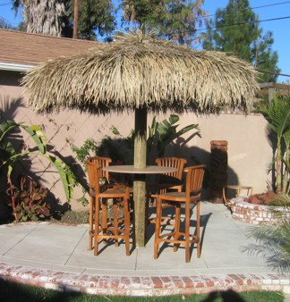 9 Ft Mexican Rain Cape Thatched Umbrella Cover
