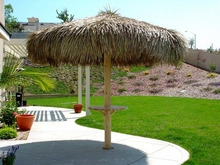 FIRE RETARDANT<br>10ft Commercial Grade Palapa Umbrella Cover