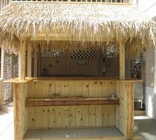 4ft x 10ft Palm Grass Tiki Thatching Roll
