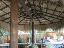 9' x 24' 2 Pole Oval Palapa Kit
