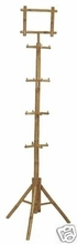 Display Clothing Bamboo Commercial Rack